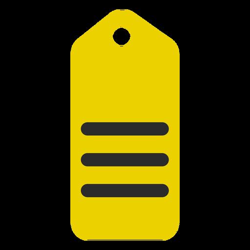 Ícone de traço colorido marca de compras Transparent PNG