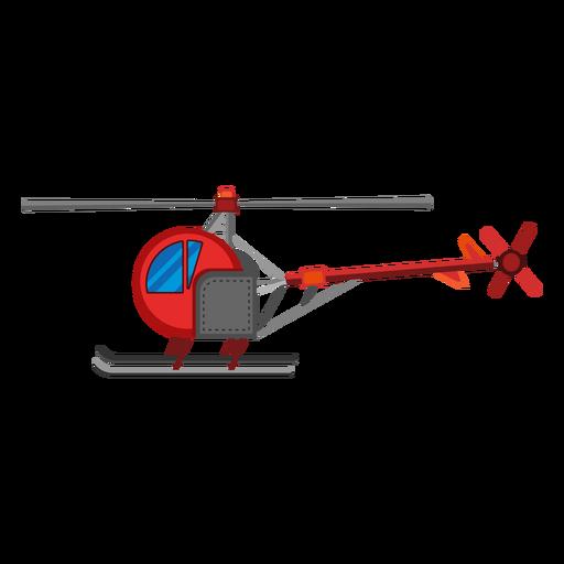 Icono de helicóptero de un solo asiento Transparent PNG