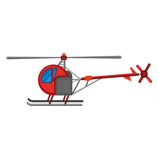 Single seat helicopter icon Transparent PNG
