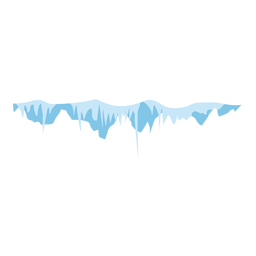 Snow icicle cap icon