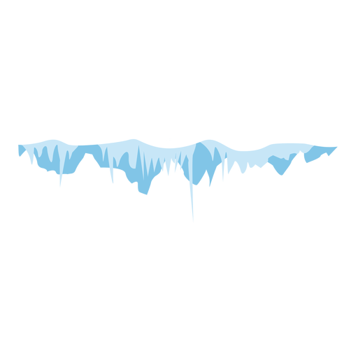 Snow icicle cap icon Transparent PNG