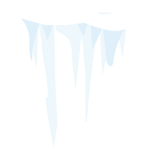 Snow icicle icon Transparent PNG