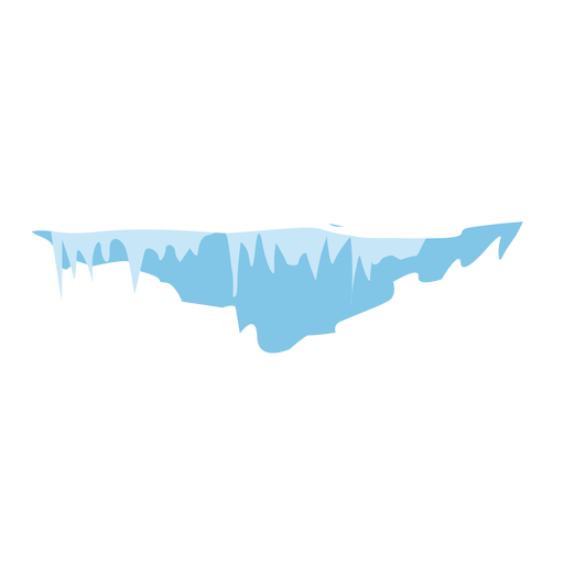 Icono de icicles de nieve Transparent PNG
