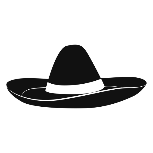 Sombrero hat flat icon Transparent PNG