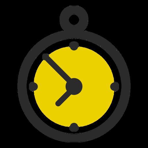 Stoppuhr farbige Hubsymbol Sport Symbole Transparent PNG