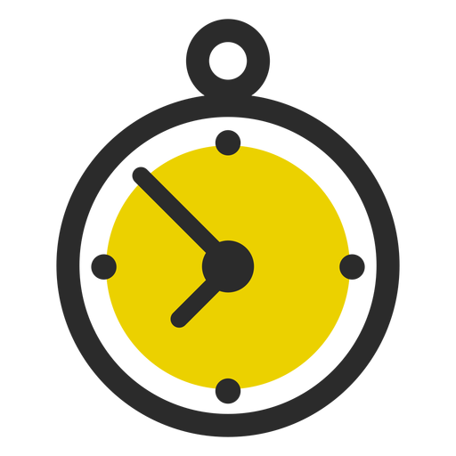 Stopwatch colored stroke icon sport icons Transparent PNG
