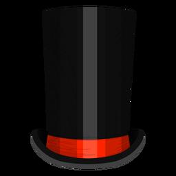 Icono de sombrero de tubo de estufa