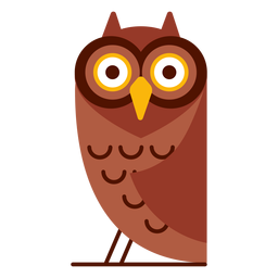 Surprised owl illustration