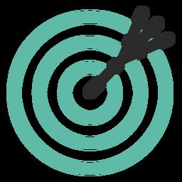 Alvo e ícone de seta