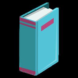 Icono de libro grueso