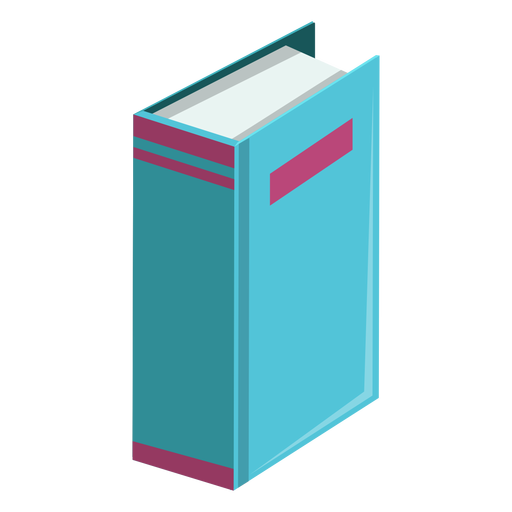 Thick book icon Transparent PNG