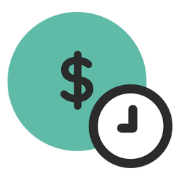 Tempo é ícone de dinheiro