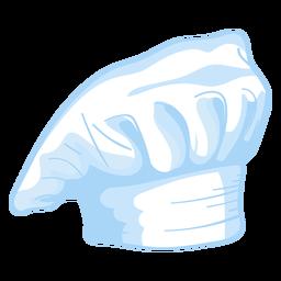 Ilustración de sombrero de toque