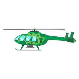 Utility helicopter icon