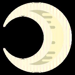 Icono de luna creciente