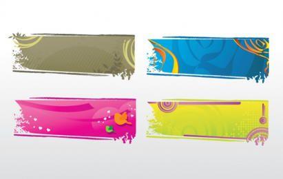 Coleção de Design de Banners