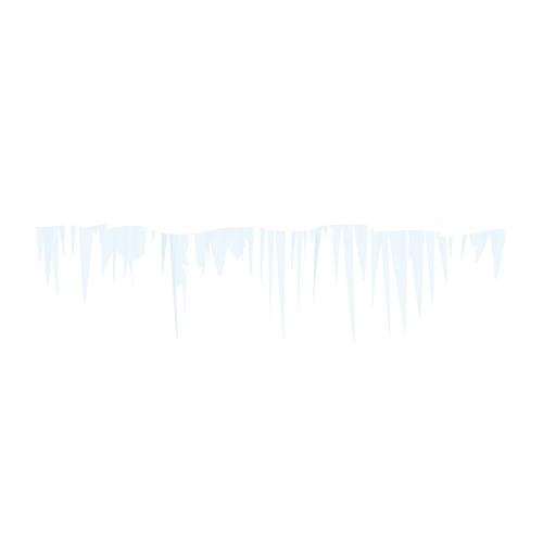 Winter icicle icon Transparent PNG