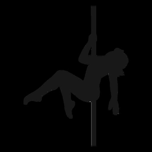 Polo mujer bailando silueta polo baile Transparent PNG