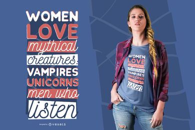 Männer, die T-Shirt-Design hören
