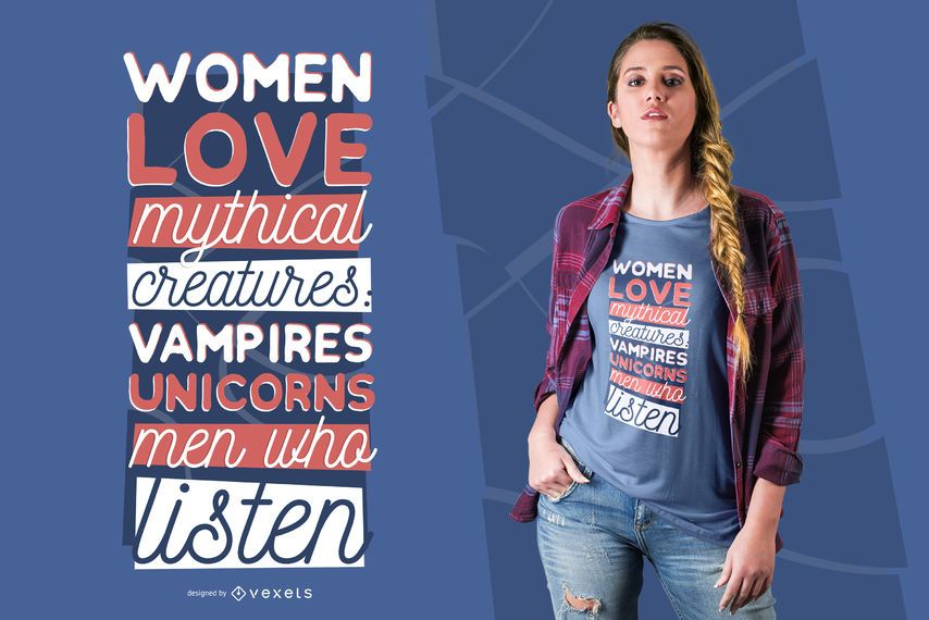 Men who listen t-shirt design