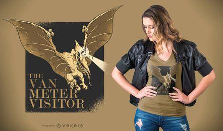 Diseño de camiseta de visitante de Van Meter
