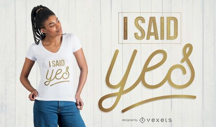 Projeto do t-shirt de Bachelorette da noiva