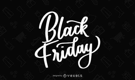 Black Friday handschriftliche Beschriftung