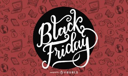 Black Friday-Werbedesign