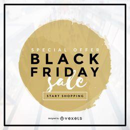 Black Friday Sale Vector Design