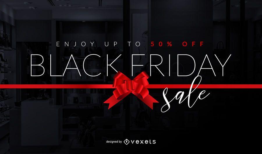 Projeto de arco de venda de sexta-feira negra