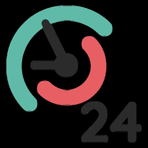 Icono de contacto 24 horas Transparent PNG