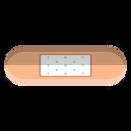 Ícones de banho de ícone de bandagem adesiva