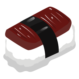 Anago enguia sushi ícone