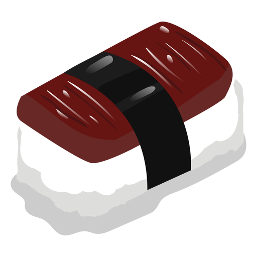Anago eel sushi icon Transparent PNG