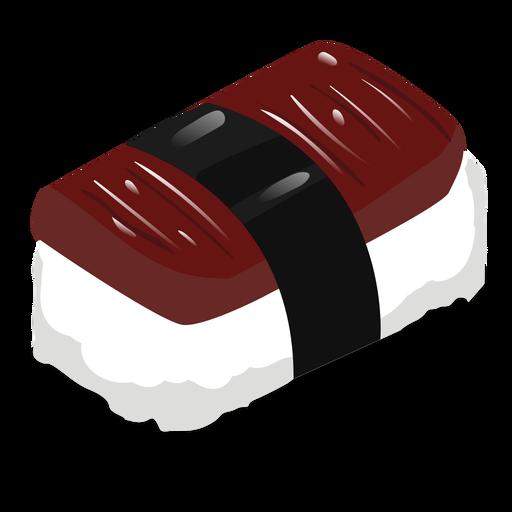 Icono de sushi de anguila anago