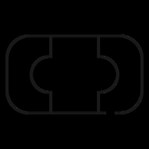 Icono de trazo de jabón de baño Transparent PNG