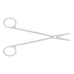 Ícone de tesoura de banheiro