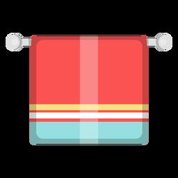 Ícono de toalla de baño