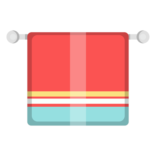 Bathroom towel icon Transparent PNG
