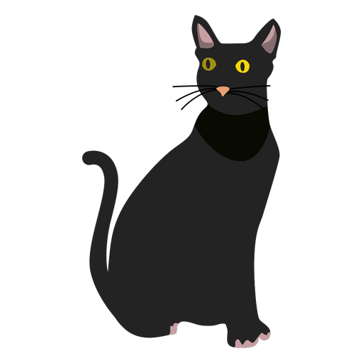 Bombay cat illustration Transparent PNG