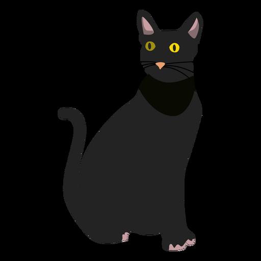 Ilustración del gato bombay Transparent PNG