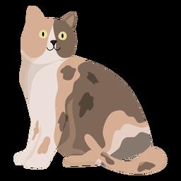 Ilustración animal del gato