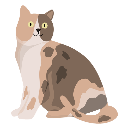 Ilustración animal del gato Transparent PNG