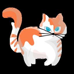 Gato mascota ilustración