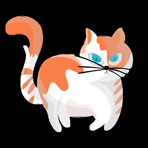 Ilustración de mascota gato