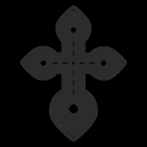 Icono de la cruz cristiana Transparent PNG