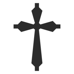Christian cross religion element