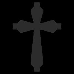 Elemento de religión cruz cristiana