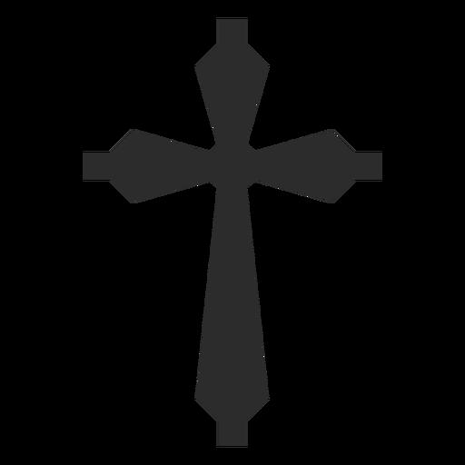 Christian cross religion element