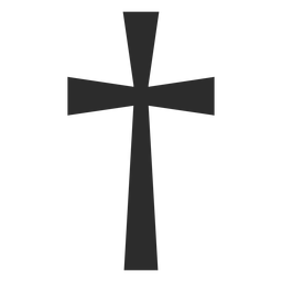 Christian cross religion icon